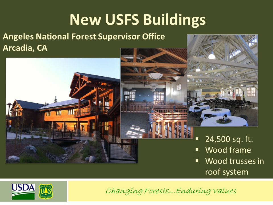 Angeles National Forest Supervisor Office Arcadia, CA