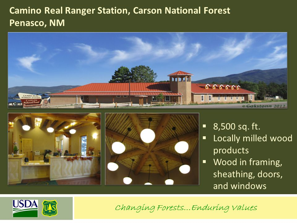 Camino Real Ranger Station, Carson National Forest Penasco, NM
