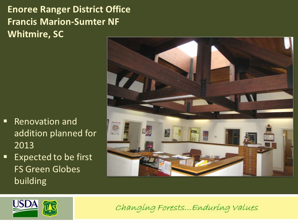 Enoree Ranger District Office Francis Marion-Sumter NF Whitmire, SC