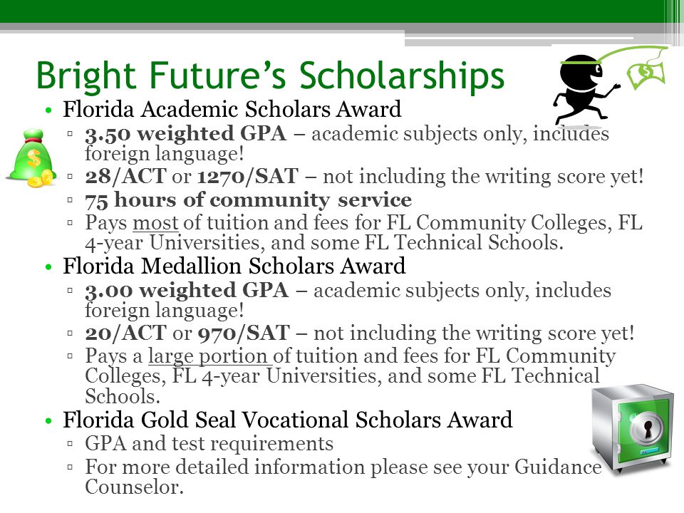 Bright Future's Scholarships
