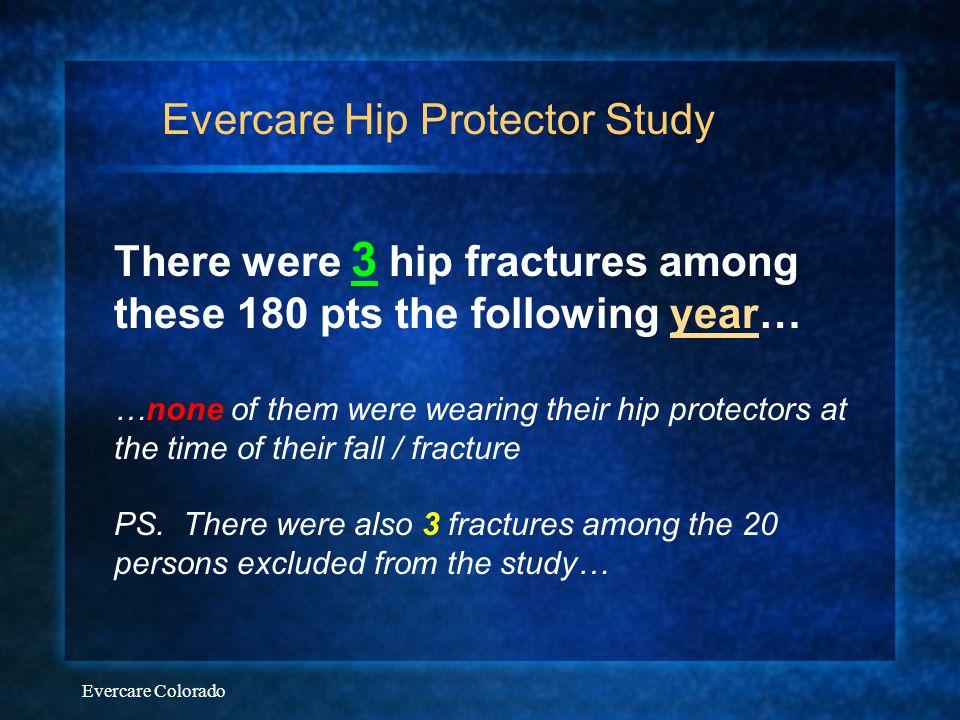 Evercare Hip Protector Study