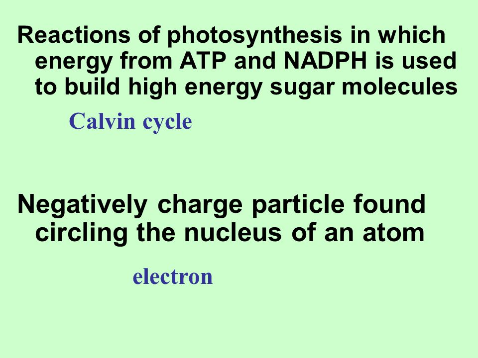 Negatively charge particle found circling the nucleus of an atom