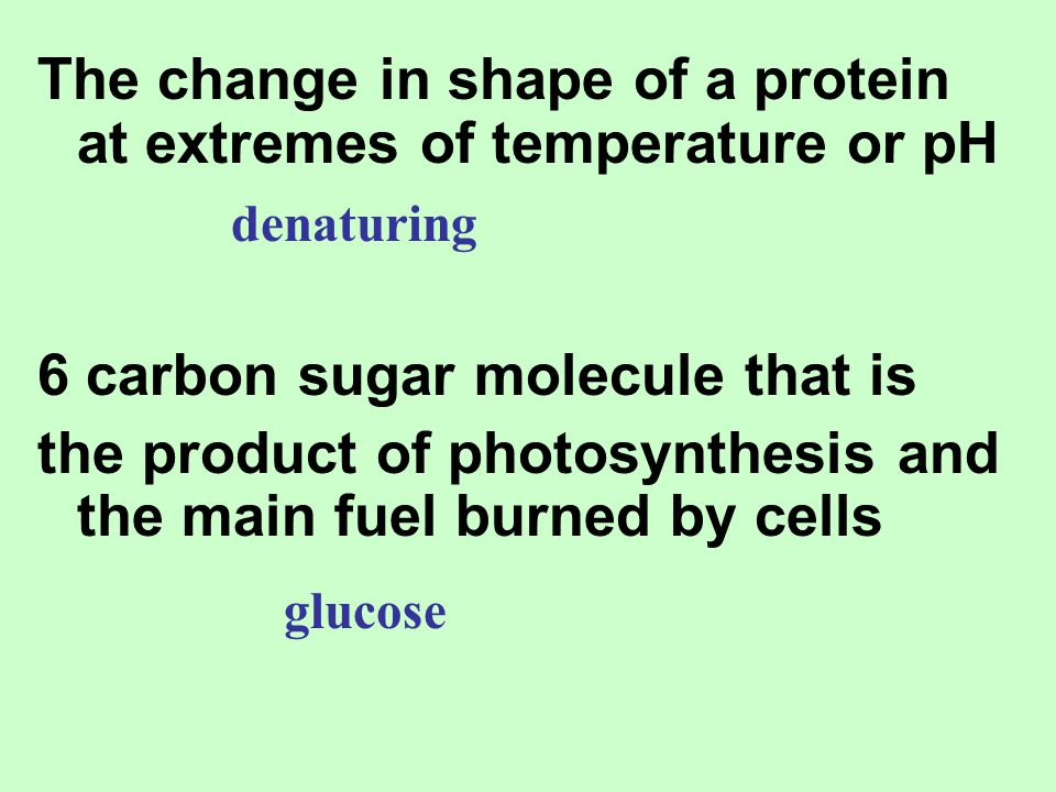 The change in shape of a protein at extremes of temperature or pH