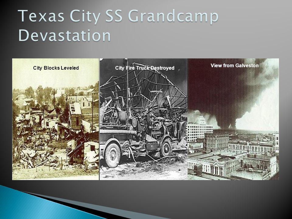 Texas City SS Grandcamp Devastation