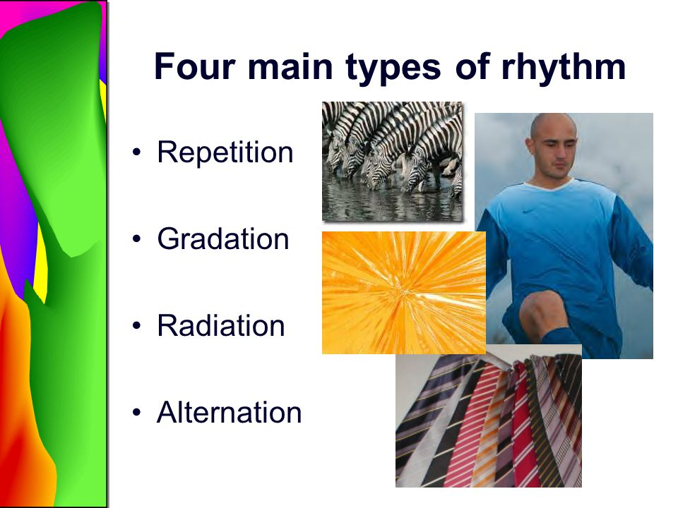 Four main types of rhythm