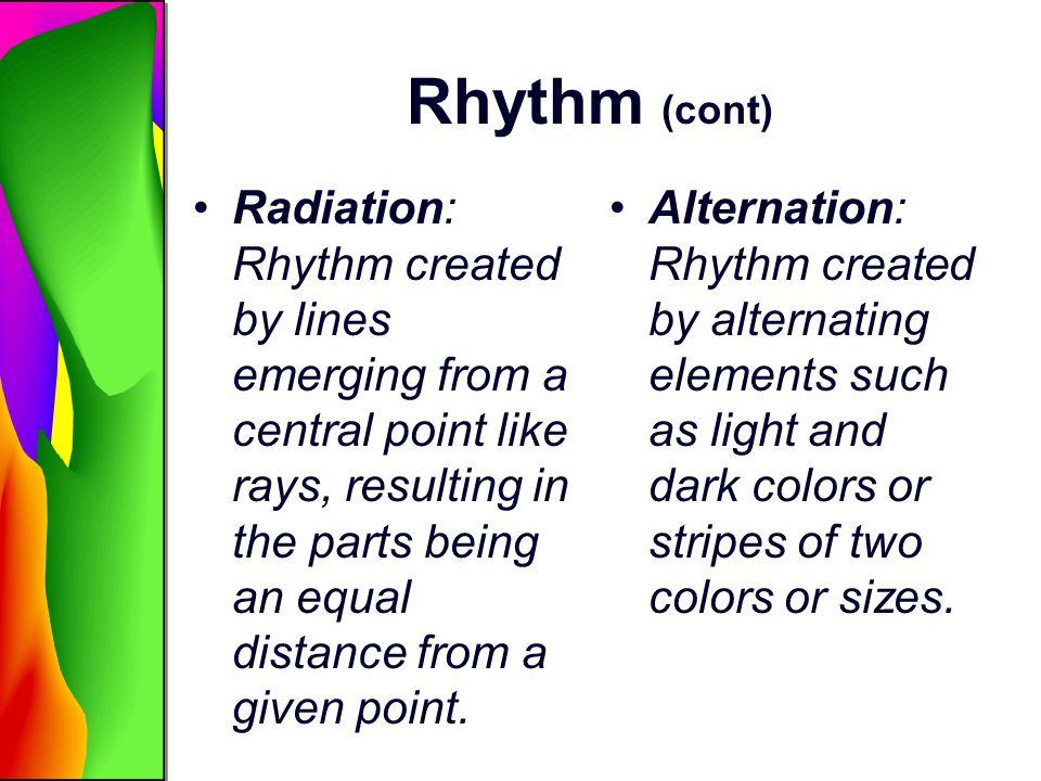 Rhythm (cont)