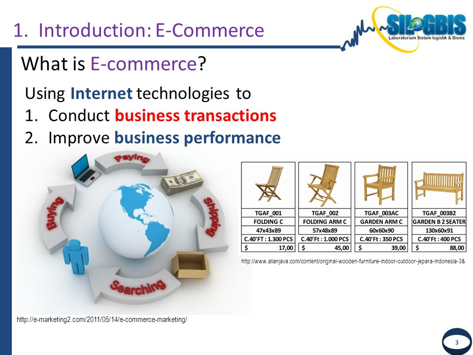 1. Introduction: E-Commerce What is E-commerce