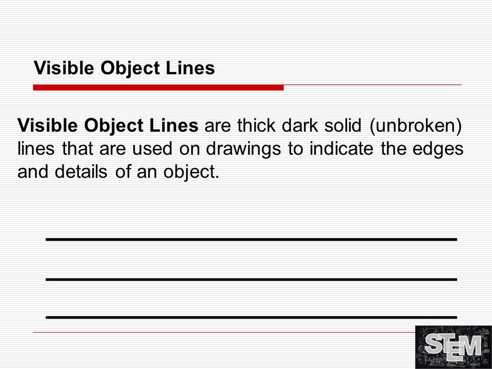 Visible Object Lines