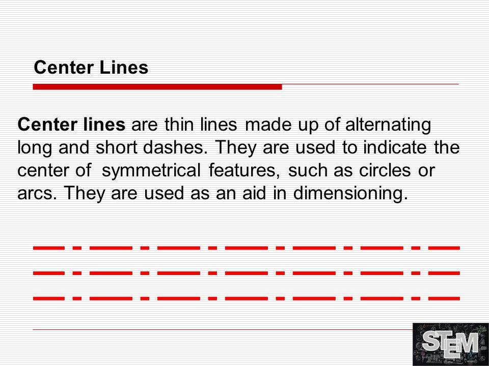 Center Lines