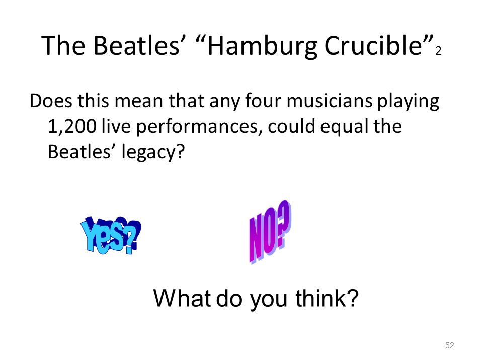 The Beatles' Hamburg Crucible 2
