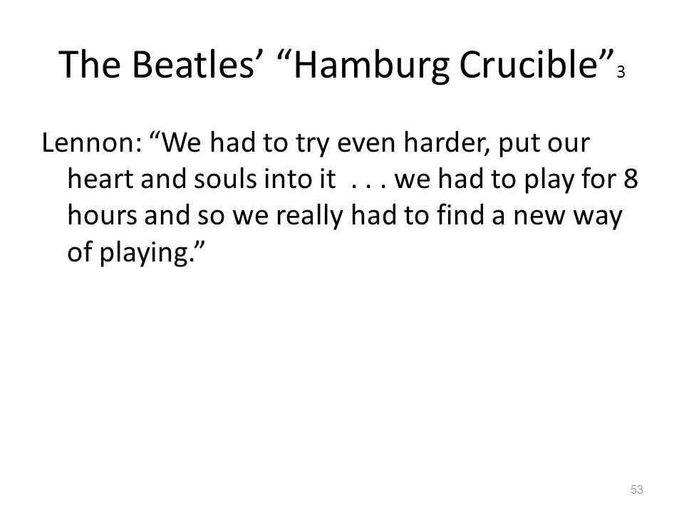 The Beatles' Hamburg Crucible 3