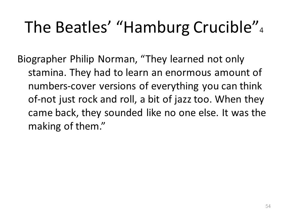 The Beatles' Hamburg Crucible 4
