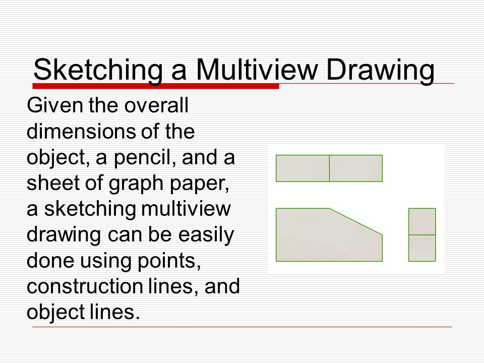 Sketching Multiview Drawings