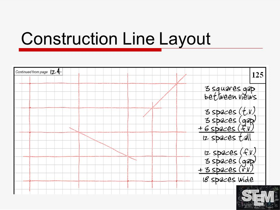 Construction Line Layout