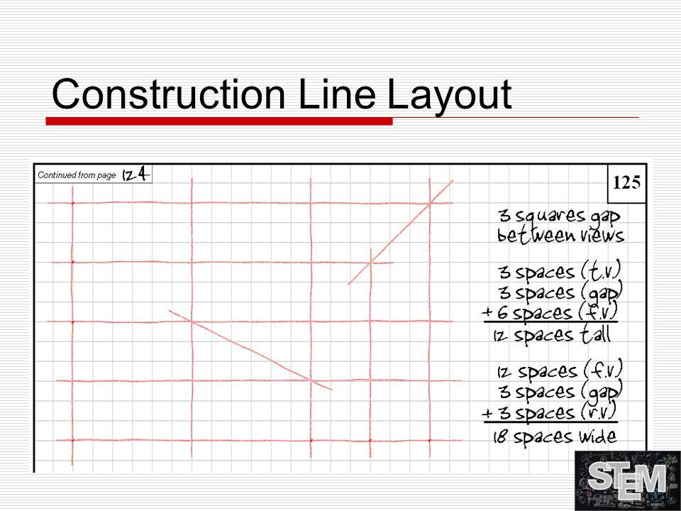 Construction Line Layout