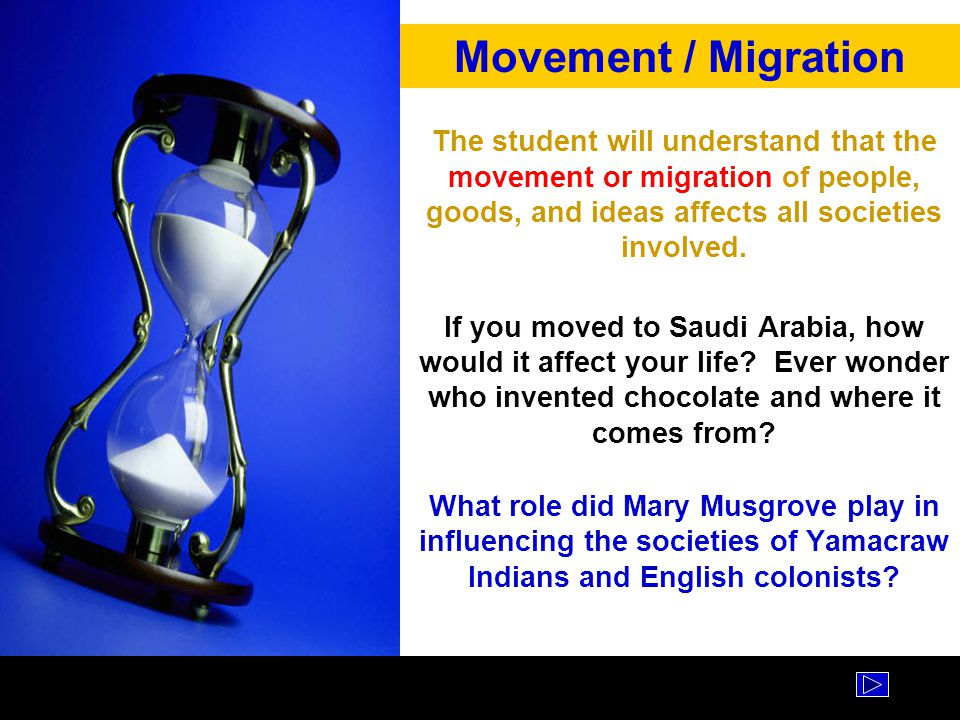 Movement / Migration