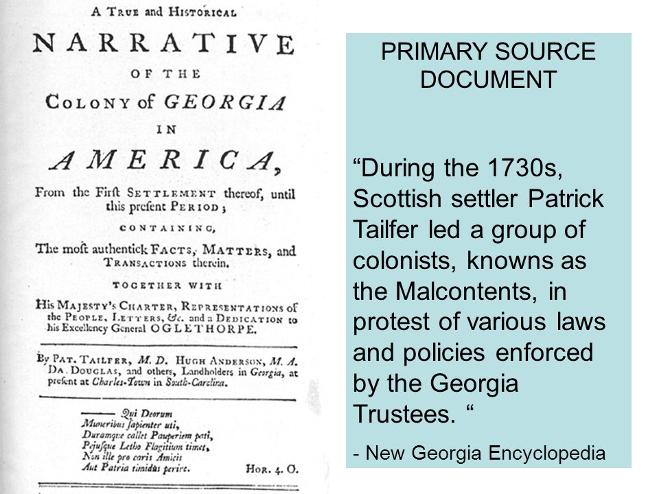 PRIMARY SOURCE DOCUMENT