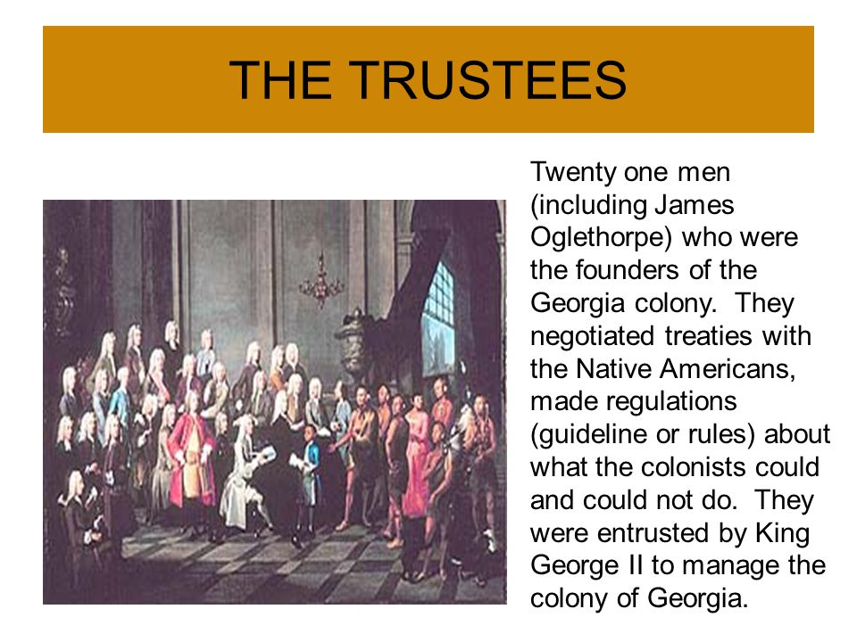 THE TRUSTEES