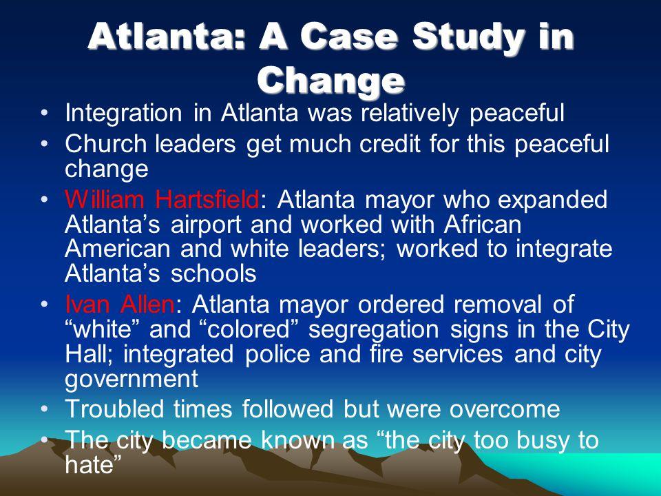 Atlanta: A Case Study in Change