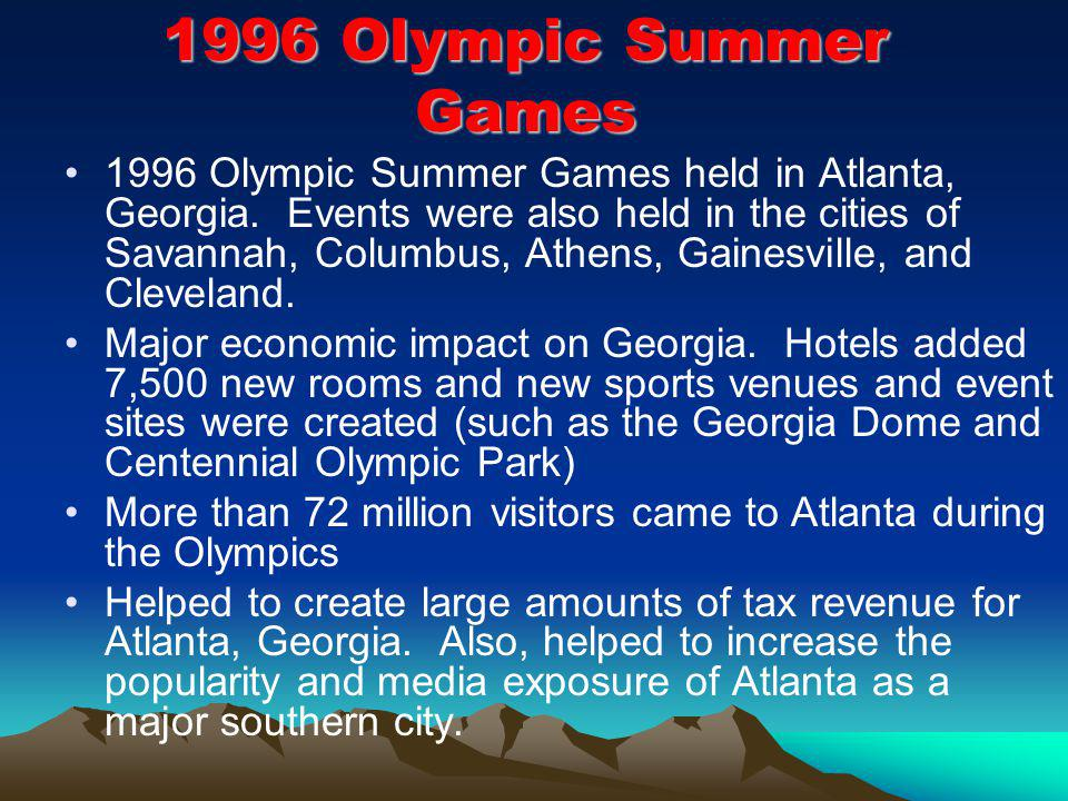 1996 Olympic Summer Games