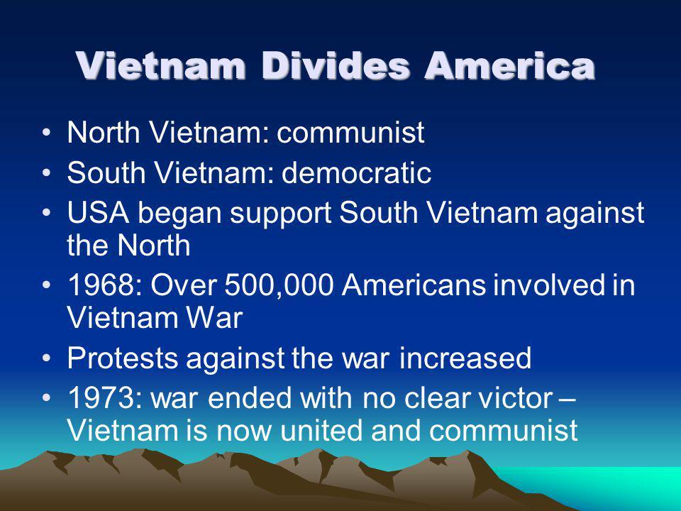 Vietnam Divides America