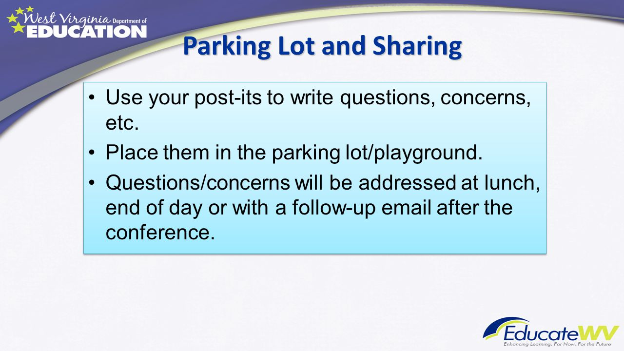 Parking Lot and Sharing