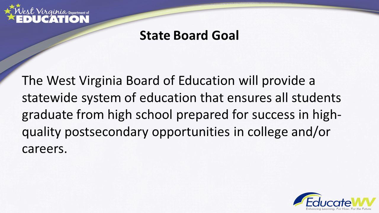 State Board Goal