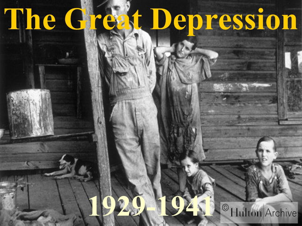 great depression of 1929 Historian robert s mcelvaine teaches at millsaps college he is the author of the great depression: america, 1929-1941 and currently at work on a novel.