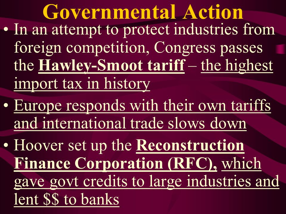 Governmental Action