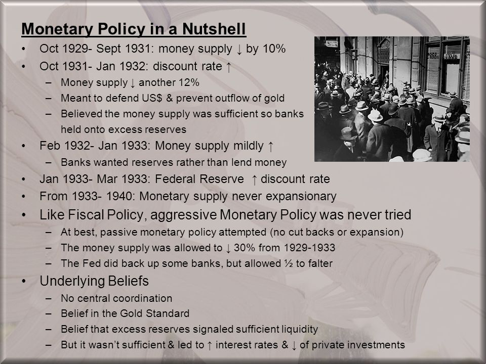 Monetary Policy in a Nutshell