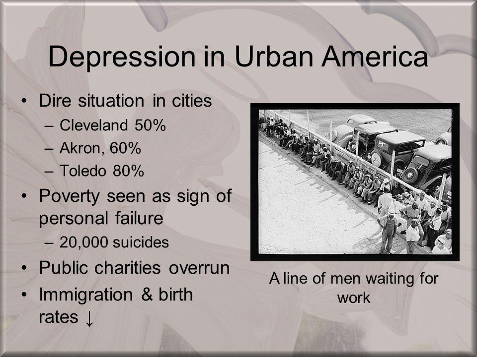 Depression in Urban America