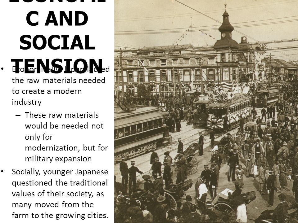 ECONOMIC AND SOCIAL TENSION