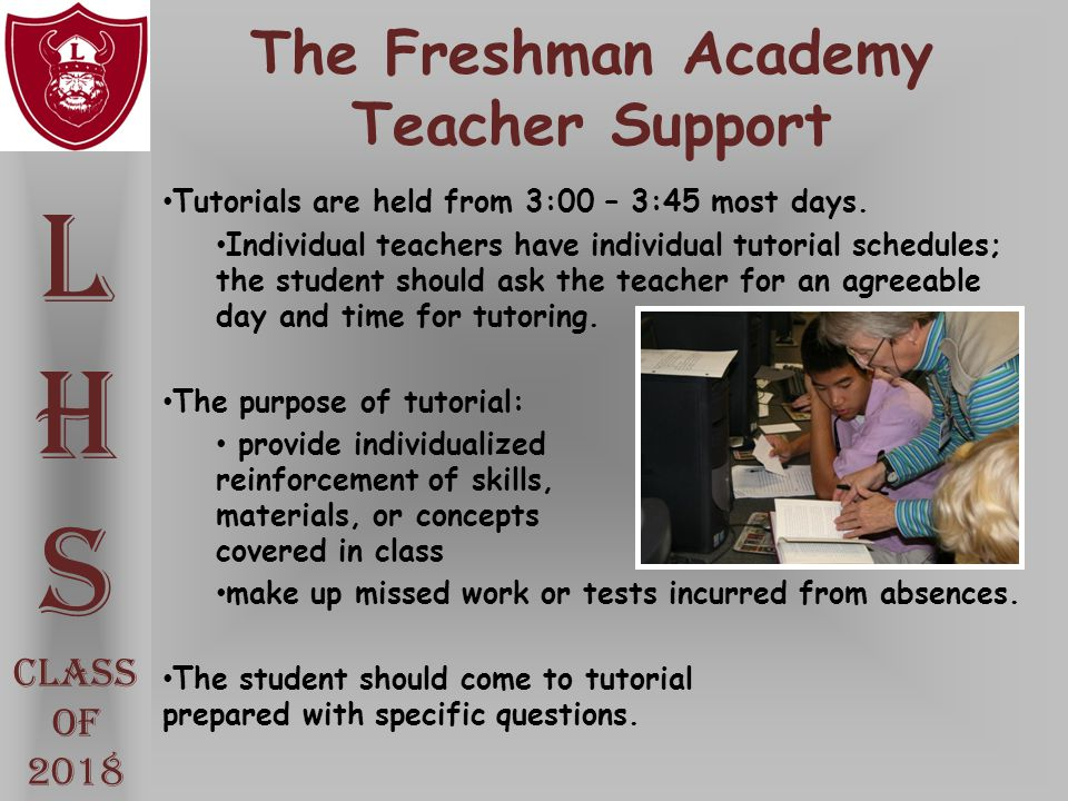 The Freshman Academy Teacher Support