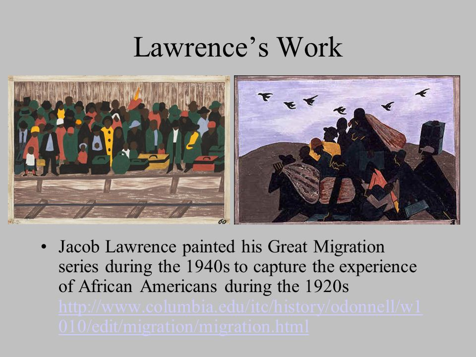 Lawrence's Work
