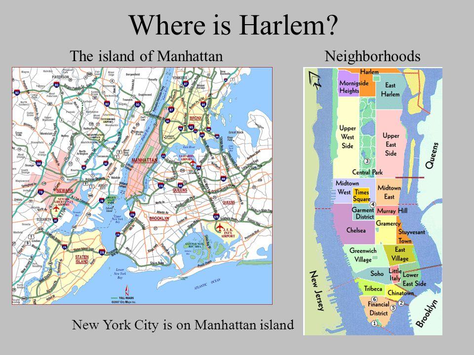 The island of Manhattan