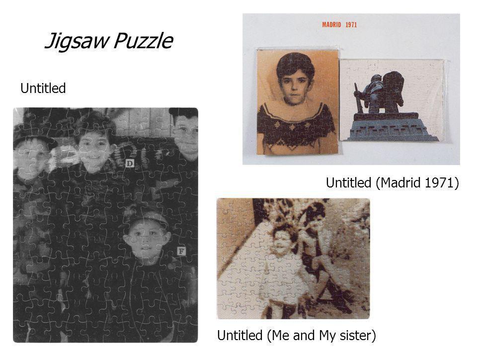 Jigsaw Puzzle Untitled Untitled (Madrid 1971)