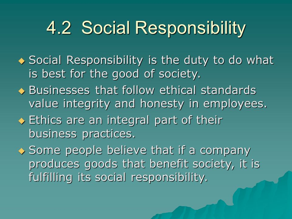 what is social responsibility of business pdf
