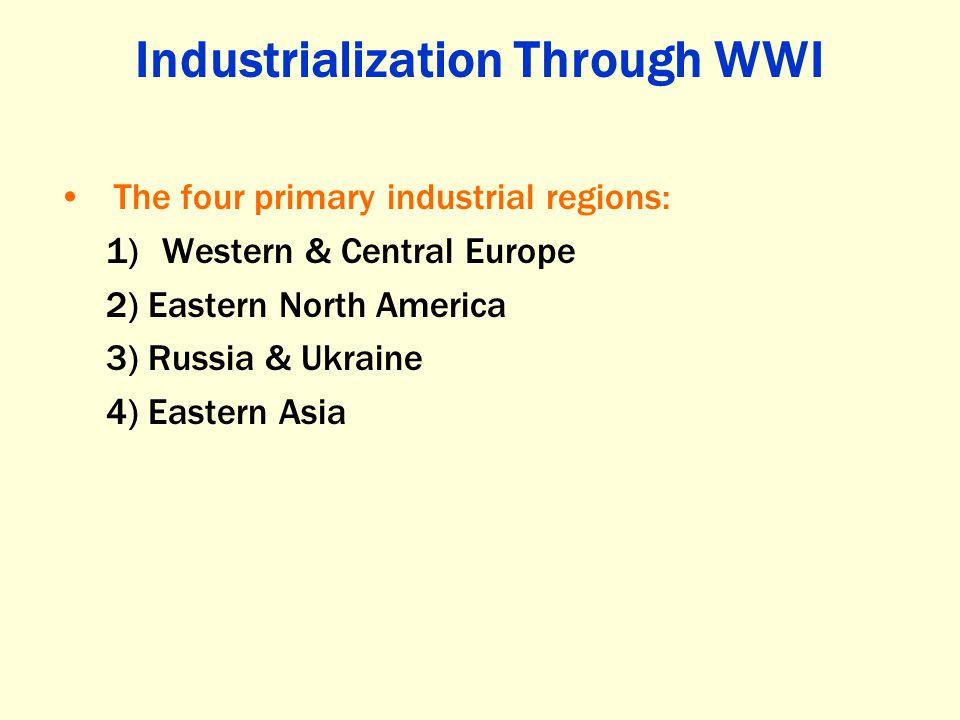 Industrialization Through WWI