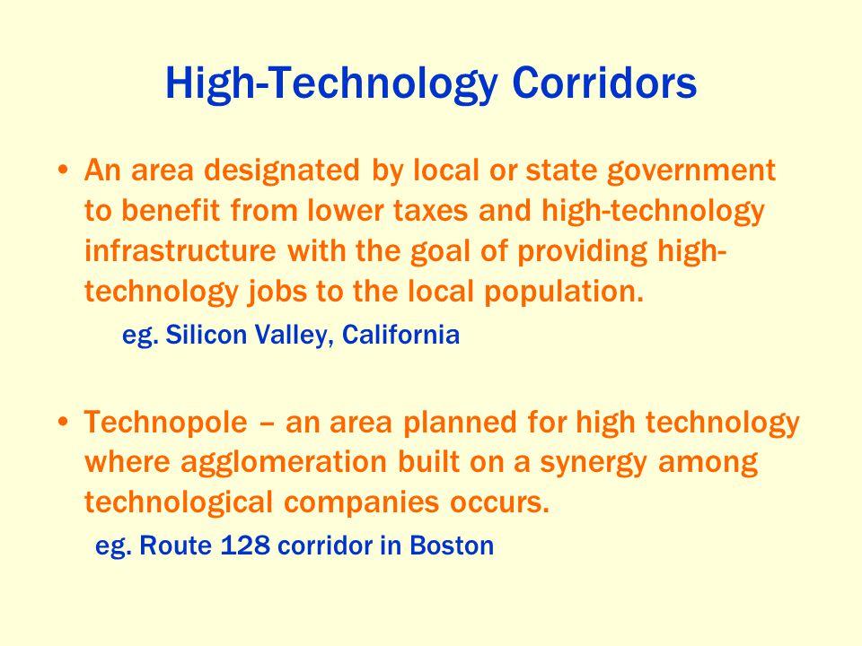 High-Technology Corridors