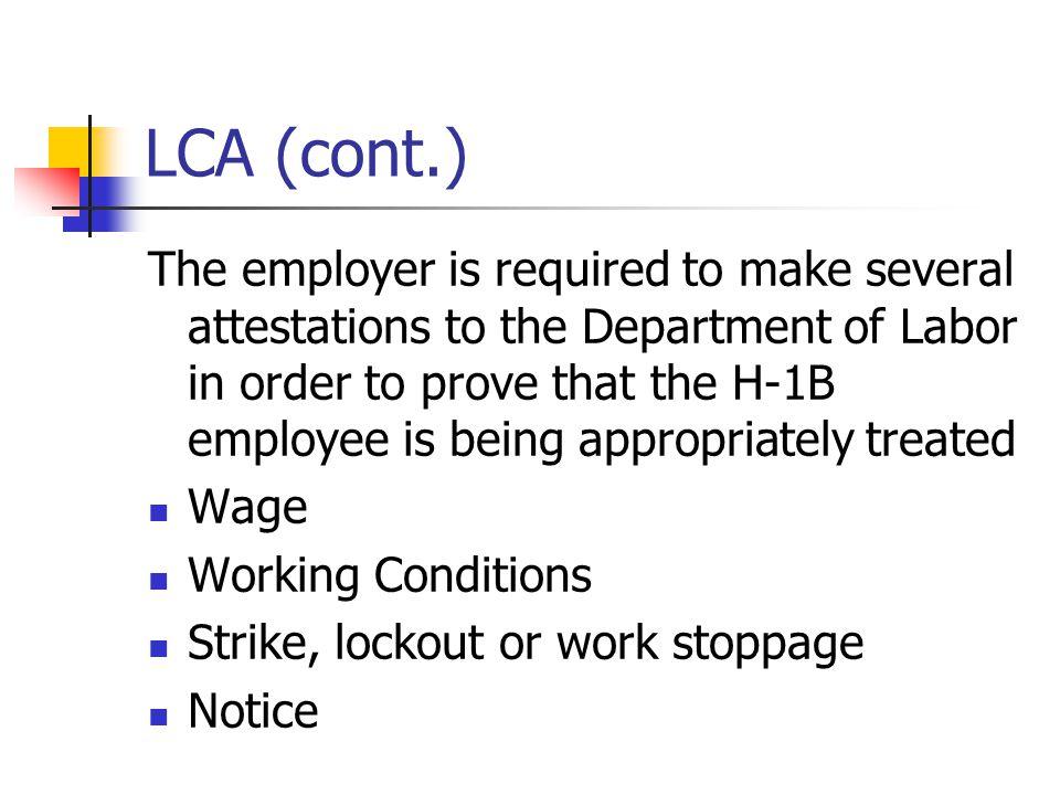 LCA (cont.)