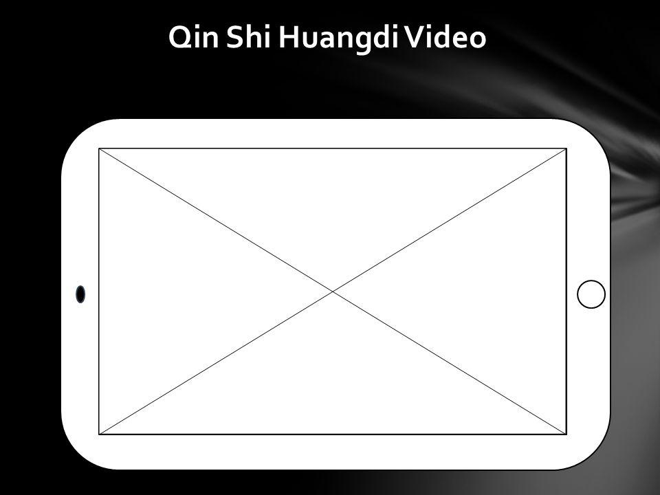 Qin Shi Huangdi Video