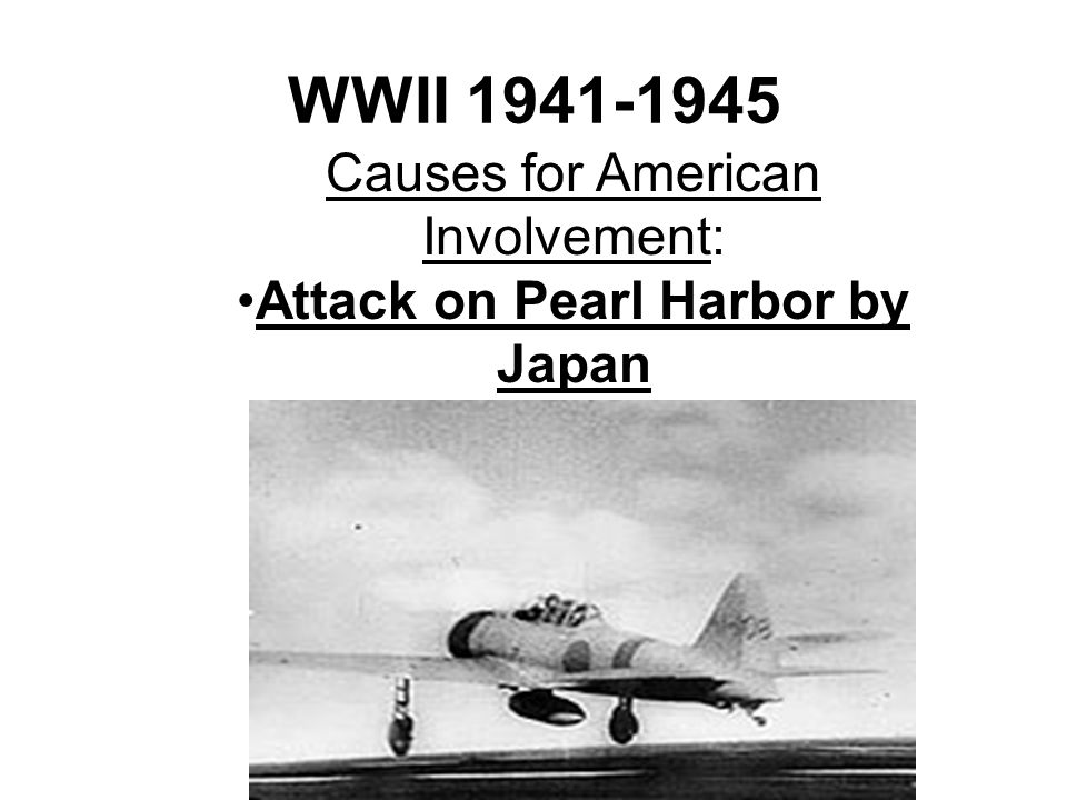 Attack on Pearl Harbor by Japan