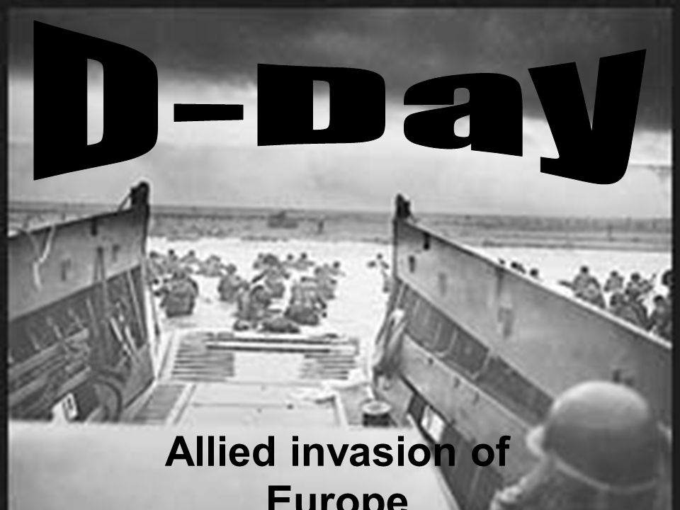 Allied invasion of Europe