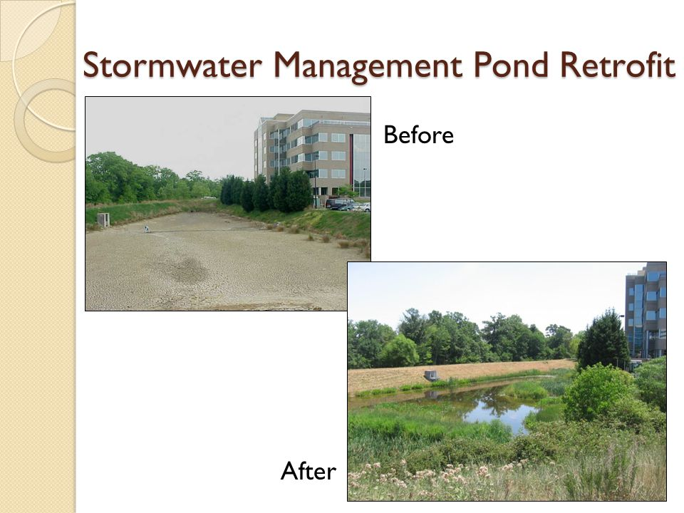 Stormwater Management Pond Retrofit