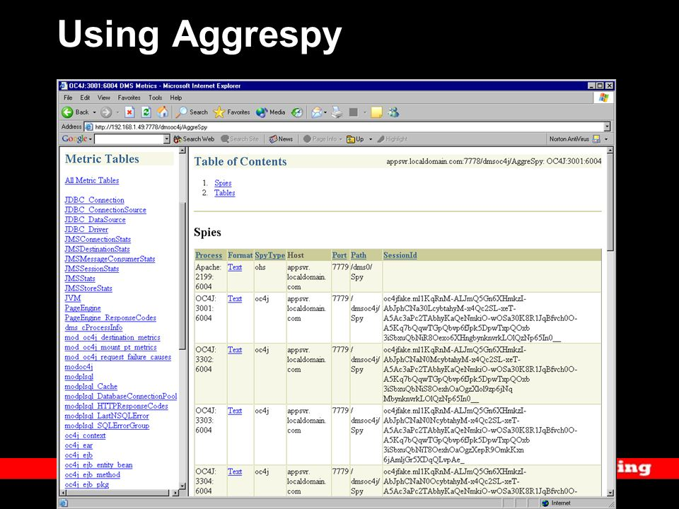 Using Aggrespy