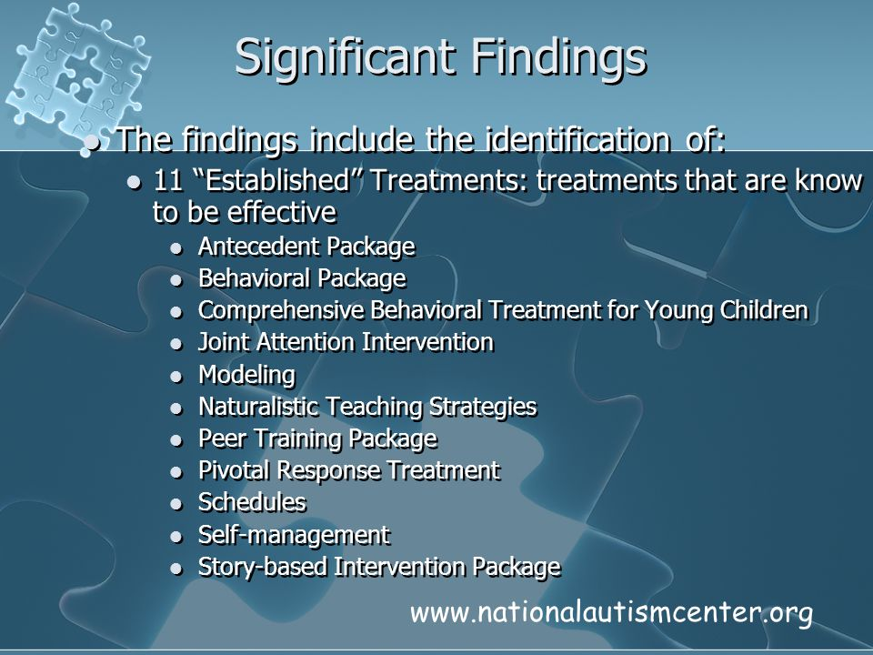 Significant Findings The findings include the identification of: