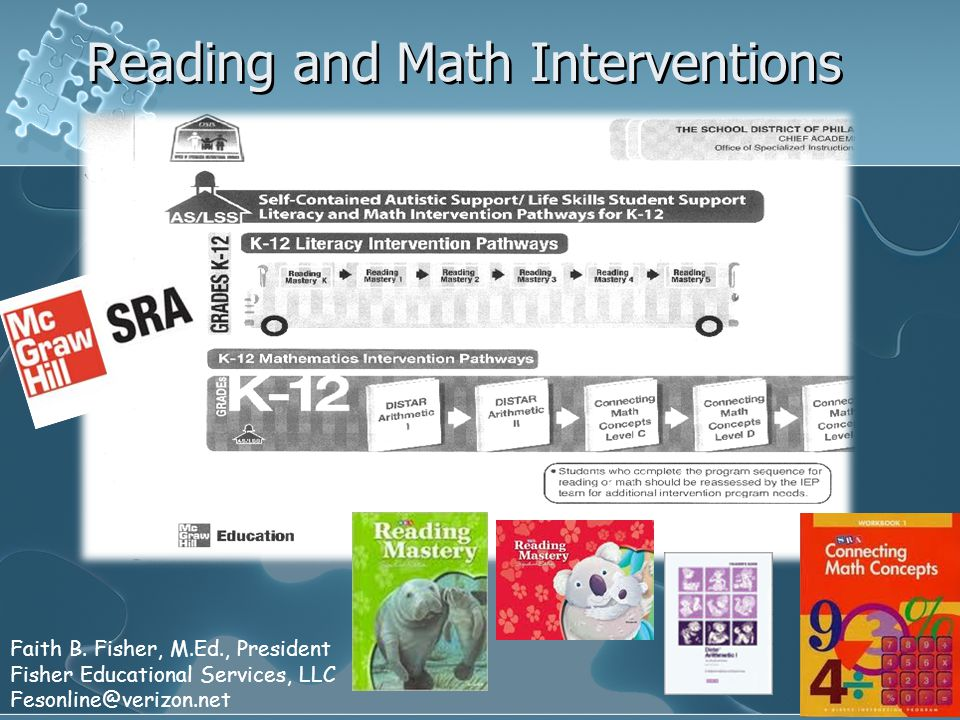 Reading and Math Interventions