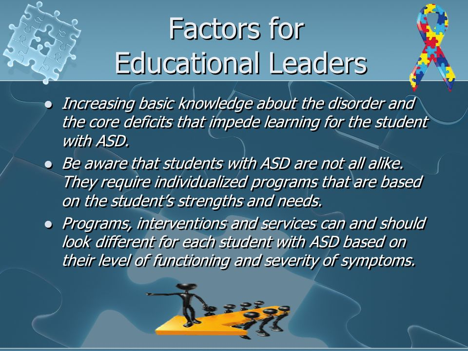 Factors for Educational Leaders