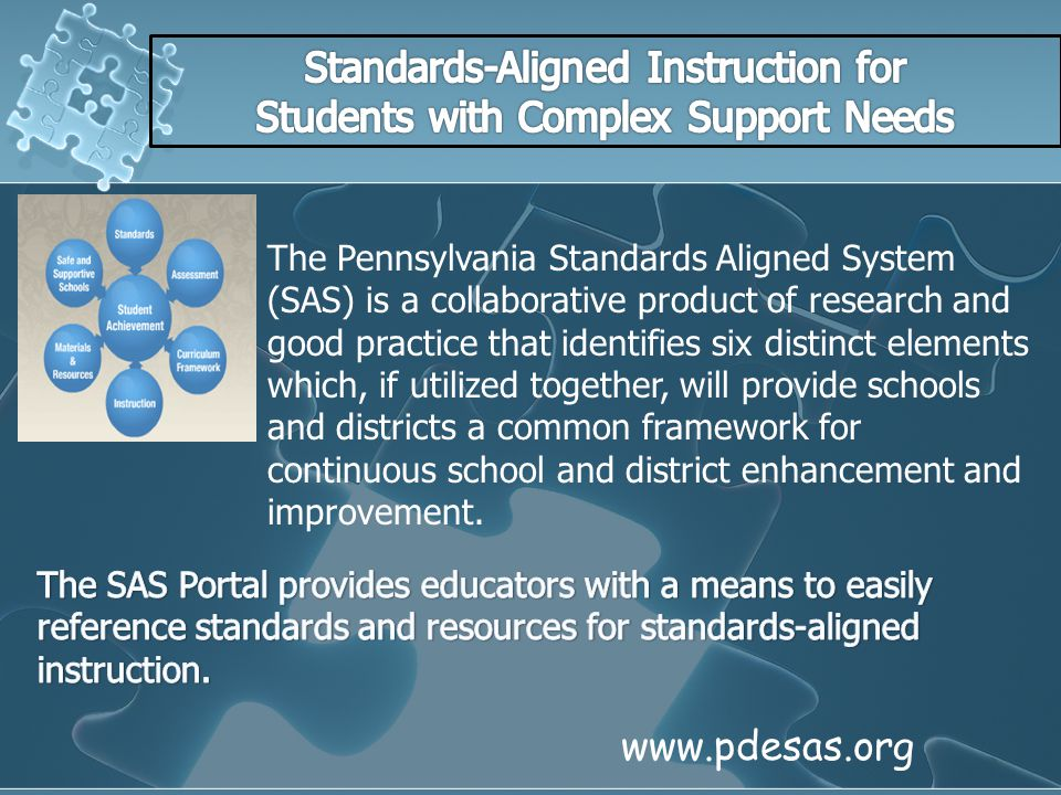 Standards-Aligned Instruction for Students with Complex Support Needs