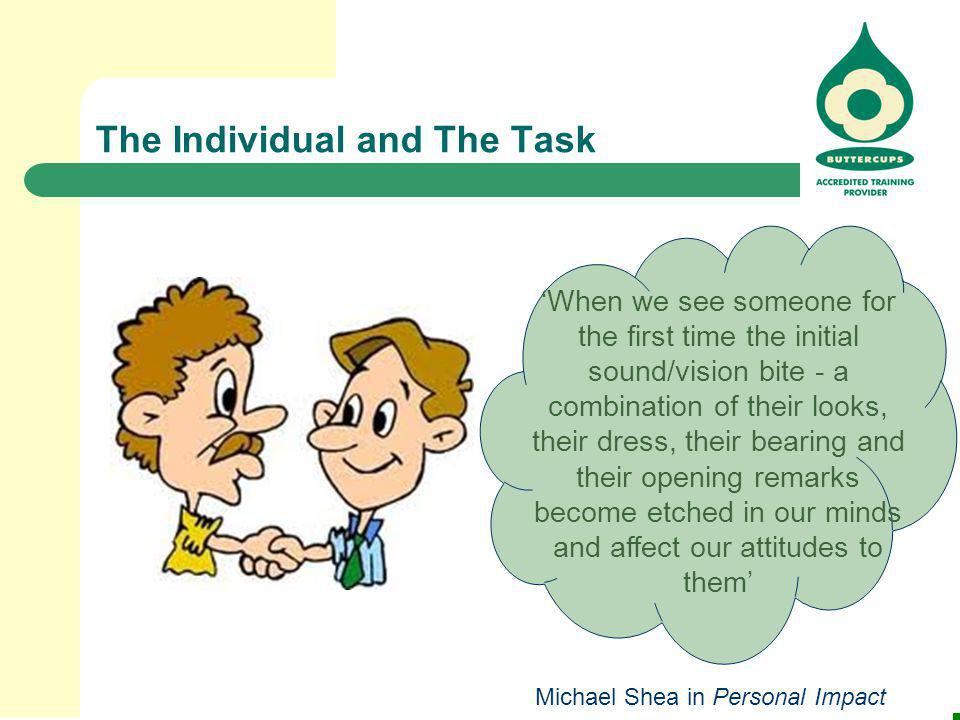 The Individual and The Task